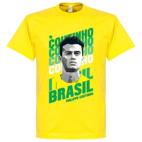 Coutinho Brazil Portrait Tee - Yellow
