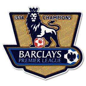 EPL Champions Patch Pair2014 / 2015 (13-14 Winners)
