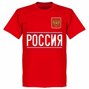 Russia 2020 Team T-Shirt - Red