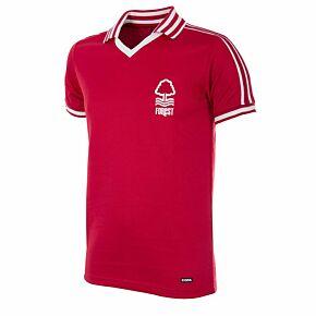 76-77 Nottingham Forest Home Retro Shirt