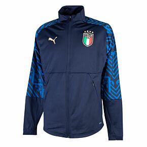 20-21 Italy Away StadiumJacket - Navy