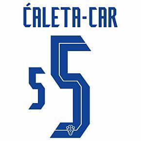 Ćaleta-Car 5 (Official Printing) - 20-21 Croatia Home