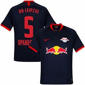 19-20 RB Leipzig Away Shirt  + Upamecano 5