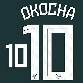 Okocha 10 (Official Printing) - 20-21 Nigeria Away