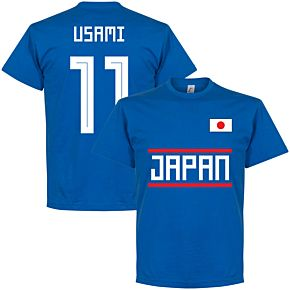 Japan Usami 11 Team Tee - Royal
