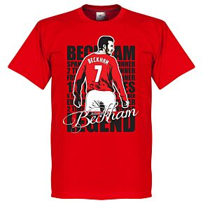 David Beckham Legend Tee - Red