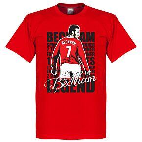 David Beckham Legend Tee - Red
