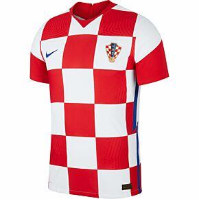 20-21 Croatia Vapor Match Home Shirt