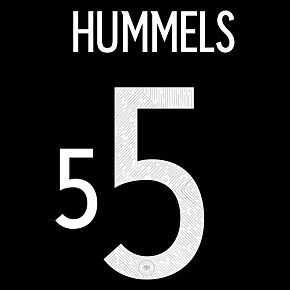 Hummels 5 (Official Printing) - 20-21 Germany Away
