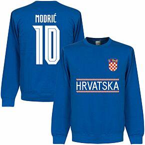 Croatia Modric 10 Team Sweatshirt - Royal