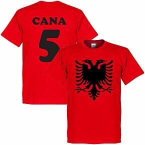 Albania Eagle Cana 5 Tee - Red