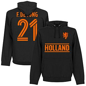 Holland F. De Jong Team Hoodie - Black