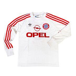 adidas Bayern Munich 1990-1991 Away Shirt L/S - USED Condition (Good) - Size XS