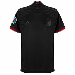 20-21 Germany Away Shirt + Euro 2020 + Respect Patches