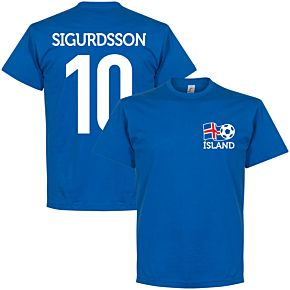 Iceland Cresta Sigurdsson 10 Tee - Blue