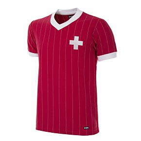 1982 Switzerland Reto Shirt