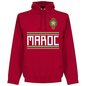 Morocco Team Hoodie - Red