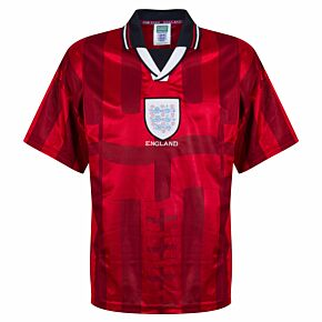 1998 England Away World Cup Finals Retro Shirt