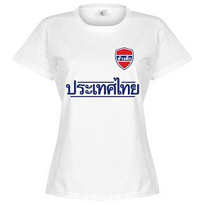 Thailand Team Womens Tee - White