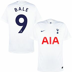 21-22 Tottenham Home Shirt + Bale 9 (Official Printing)