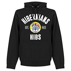 Hibernians Established Hoodie - Black