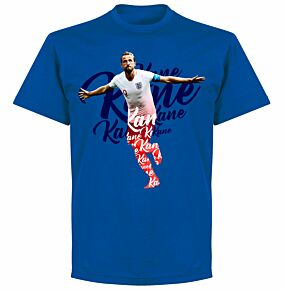 Kane Script KIDS T-shirt - Royal Blue