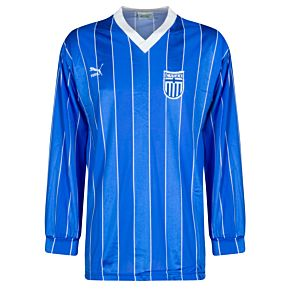 Puma Greece 1988-1990 Home Long-sleeve Jersey - USED Condition (Excellent) - Size Large