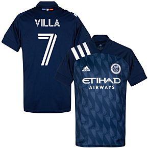 20-21 New York City FC AwayShirt + Villa 7 (Fan Style)