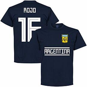 Argentina Rojo 16 Team Tee - Navy