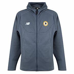 21-22 AS Roma FZ Hooded Travel jacket - Grey