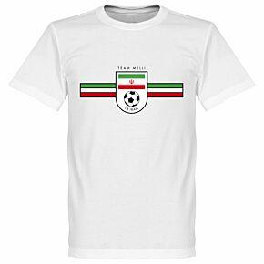 Iran Team Tee - White