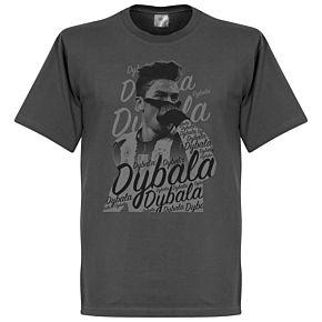 Paulo Dybala Celebration Tee - Dark Grey