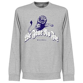 Millwall We Fear No Foe  Sweatshirt - Grey