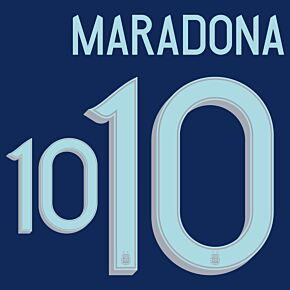 Maradona 10 - Argentina Away 20-21 - Kids (Official)