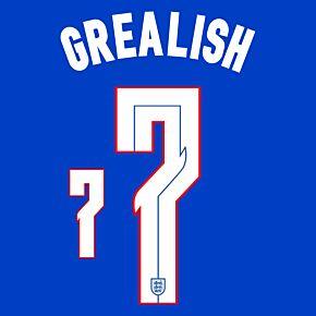 Grealish 7 (Official Printing) - 20-21 England Away