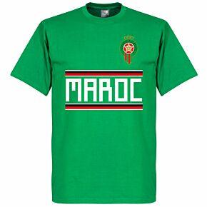Morocco Team  Tee - Green