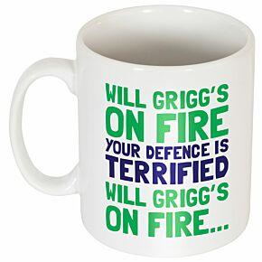 Will Grigg's On Fire Mug