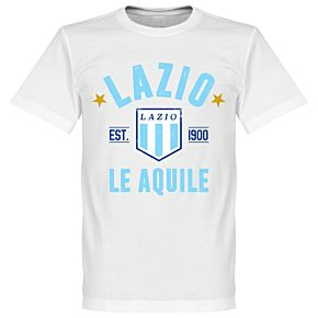 Lazio Established Tee - White