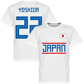 Japan Yoshida 22 Team Tee - White