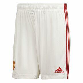 21-22 Man Utd Home Shorts