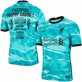 20-21 Liverpool Away Shirt + Liverpool Trophy Cabinet Printing