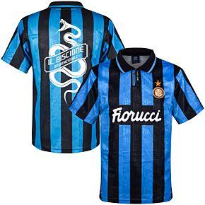 1992 Inter Milan Home Retro Shirt + Biscione Snake Print