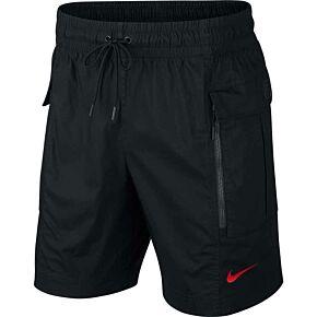 20-21 France NSW Tech Cargo Shorts - Black