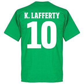 Northern Ireland Lafferty 10 Crest Tee - Green