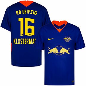 20-21 RB Leipzig Away Shirt + Klostermann 16 (Official Printing)