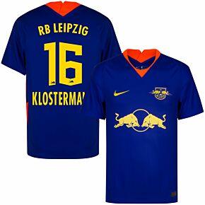 20-21 RB Leipzig Away Shirt + Klostermann 16 (Official Printing)