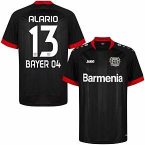 20-21 Bayer Leverkusen Home Shirt + Alario 13