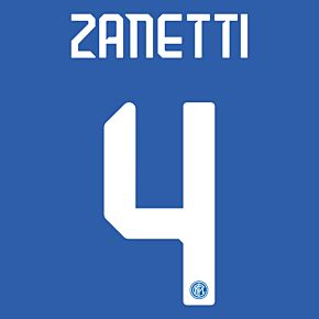 Zanetti 4 (Official Printing) - 19-20 Inter Milan Home