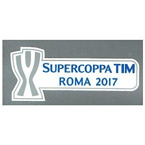 2017 Suppercoppa TIM Roma 2017 Sleeve Patch