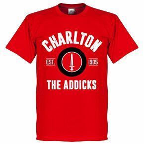 Charlton Athletic Established Tee - Red